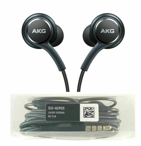 AKG Replacement In-Ear Earphones For Samsung Galaxy S10 S9 S8 S7 Headphones Mic