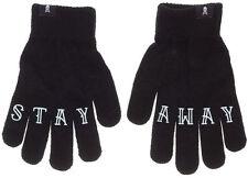 Stay Away Work Gloves Sourpuss NEW Unisex Grip Black Punk Rock Rockabilly Grease