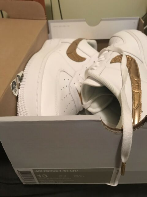 Air Force 1 Low CR7 Golden Patchwork Size 13 AQ0666 100