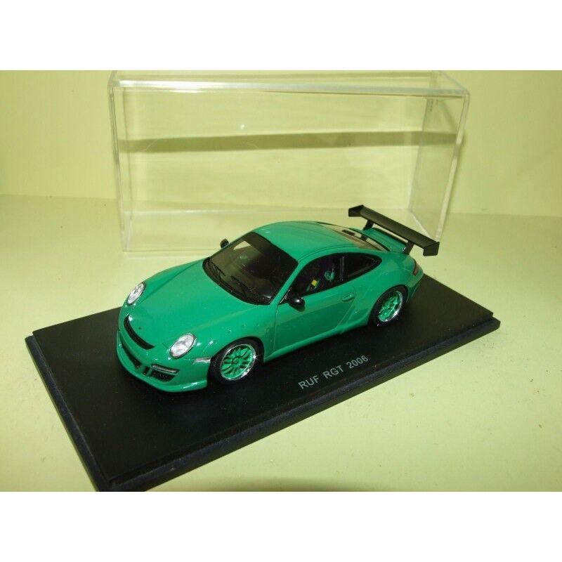 Porsche 911 997 ruf rgt 2006 green spark s0715 1 43