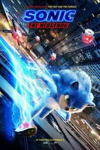 NEW SONIC THE HEDGEHOG 2020 OFFICIAL ART PREMIUM POSTER PRINT