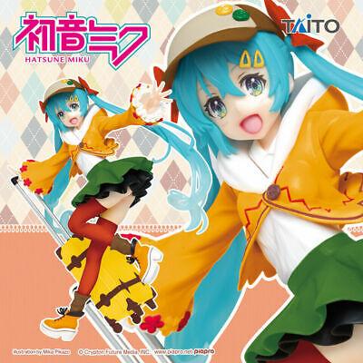 Taito Hatsune Miku Sakura Miku 2019 Illustration Ver Figure New In Box US Seller