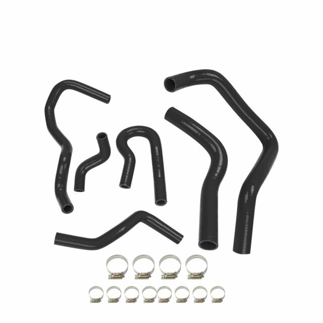 SILICONE RADIATOR /& HEATER HOSE KIT FOR CIVIC EG//EK B16 B18 1991-2001 BLACK