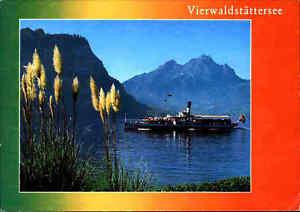 Schiff-Ship-Binnenschiff-Dampfer-Schweiz-Schiff-Fahrt-Vierwaldstaettersee-color