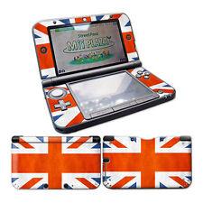Nintendo 3DS XL Skin Design Foils Aufkleber Schutzfolie Set - Union Jack Motiv