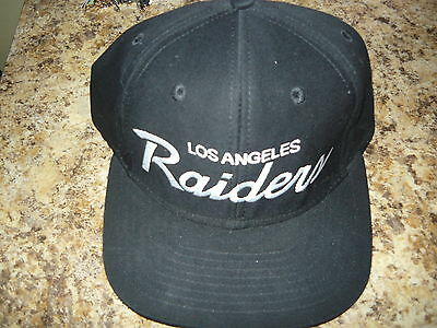 Los Angeles Raiders Script Snapback NEW Authentic  las veges with one tag still