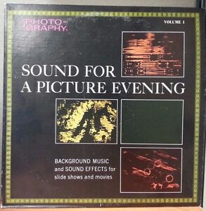 Sound-For-A-Picture-Evening-Volumes-I-II-III-amp-IV-Vinyl-Lot
