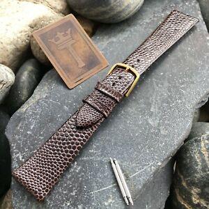 3-4-034-19MM-Lizard-Grain-Vintage-Watch-Band-Unused-NOS