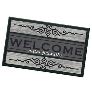 Zerbino-ingresso-40x70-gomma-antiscivolo-WELCOME-moderno-tappeto-esterno-casa