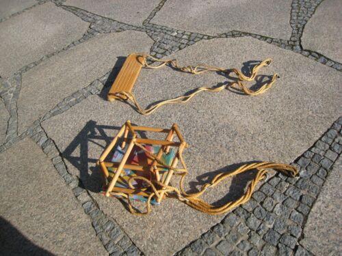 2 Baby-/Kinderschaukeln im Set,Schaukelsitz/Gitterschaukel Schaukelspielzeug