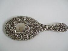 Plata Espejo de mano Eduardiano Robert Pringle 1900