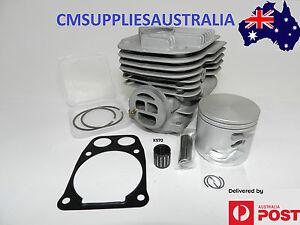 Quality-Nikasil-Husqvarna-K970-K960-Cylinder-Kit-Demo-Saw-w-Gasket-amp-Bearing-56mm