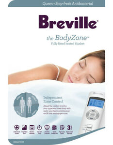Breville BodyZone™ Antibacterial Fitted Electric Blanket