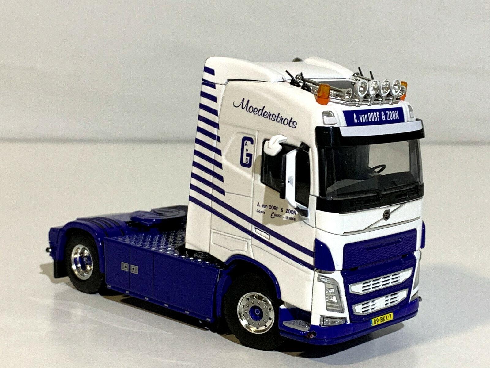 WSI camión Modelos, Volvo FH4 Globetrojoter 4x2 solo camión  A. Van Gota & Zoon