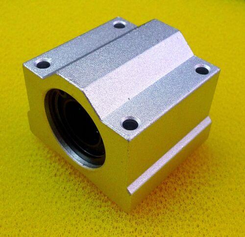 13mm Metal Linear Ball Bearing Pellow Block Unit FOR CNC SC13UU 2 PCS SCS13UU