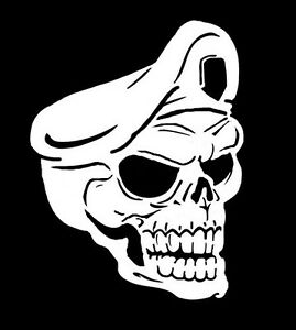 high detail airbrush stencil skull king   FREE UK POSTAGE