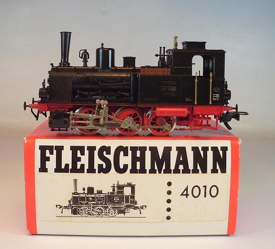 Fleischmann h0 4010 locomotiva BR 89 7462 delle DR 2 = corrente continua OVP  8504