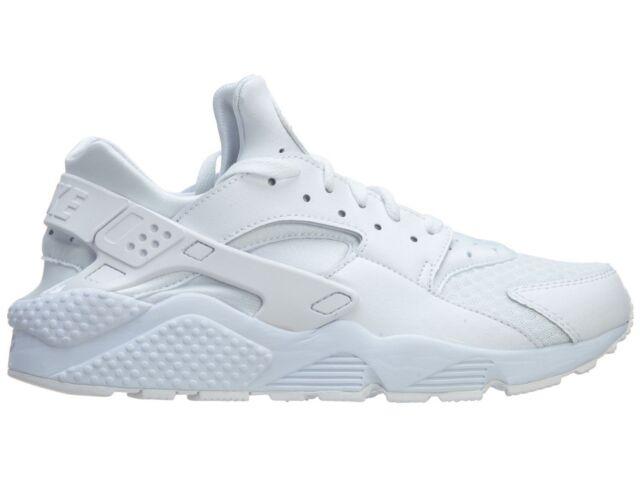 fattibile Clancy Uccidere  Nike Air Huarache Mens Size 12 Triple White Pure Platinum 318429 111 for  sale online | eBay