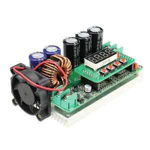 600W-Digital-Control-DC-DC-Adjustable-Step-Up-Module-Constant-Voltage-Current-So