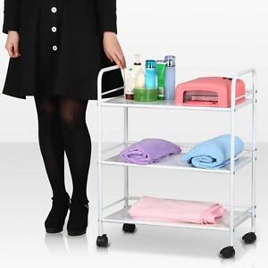 New-3-Shelf-Iron-Cart-Trolley-Doctor-Dentist-Medical-Trolly-Spa-Salon-Equipment