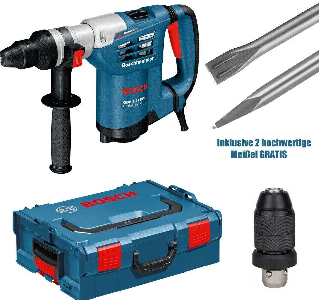 Bosch GBH 4-32 DFR Professional Multihammer SDS-plus mit Zubehör + 2x SDS Plus M