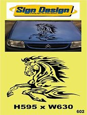 LEAPING HORSE FIT CAR VAN MOTORHOME CARAVAN SIGNS GRAPHICS DECALS STICKER 602