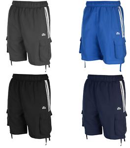 Lonsdale Shorts Sporthose Kurzhose Bermuda Sport Hose Herren Cargo 027