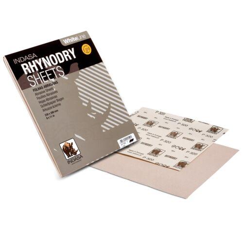 Indasa WHITE LINE Schleifpapier 10x Bogen P80 230x280mm Trockenschliff Schleifen