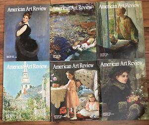 Lot of 6 2009 Issues American Art Review Magazines Feb April Aug June Oct Dec