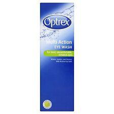 Optrex Multi Action Eye Wash Improved eye bath 300ml OptiSeal Flexi Opti Seal