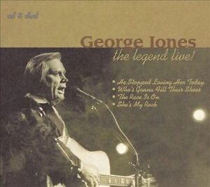CD-ONLY-ARTWORK-DIGIPAK-MISSING-George-Jones-Legend-Live-Dig