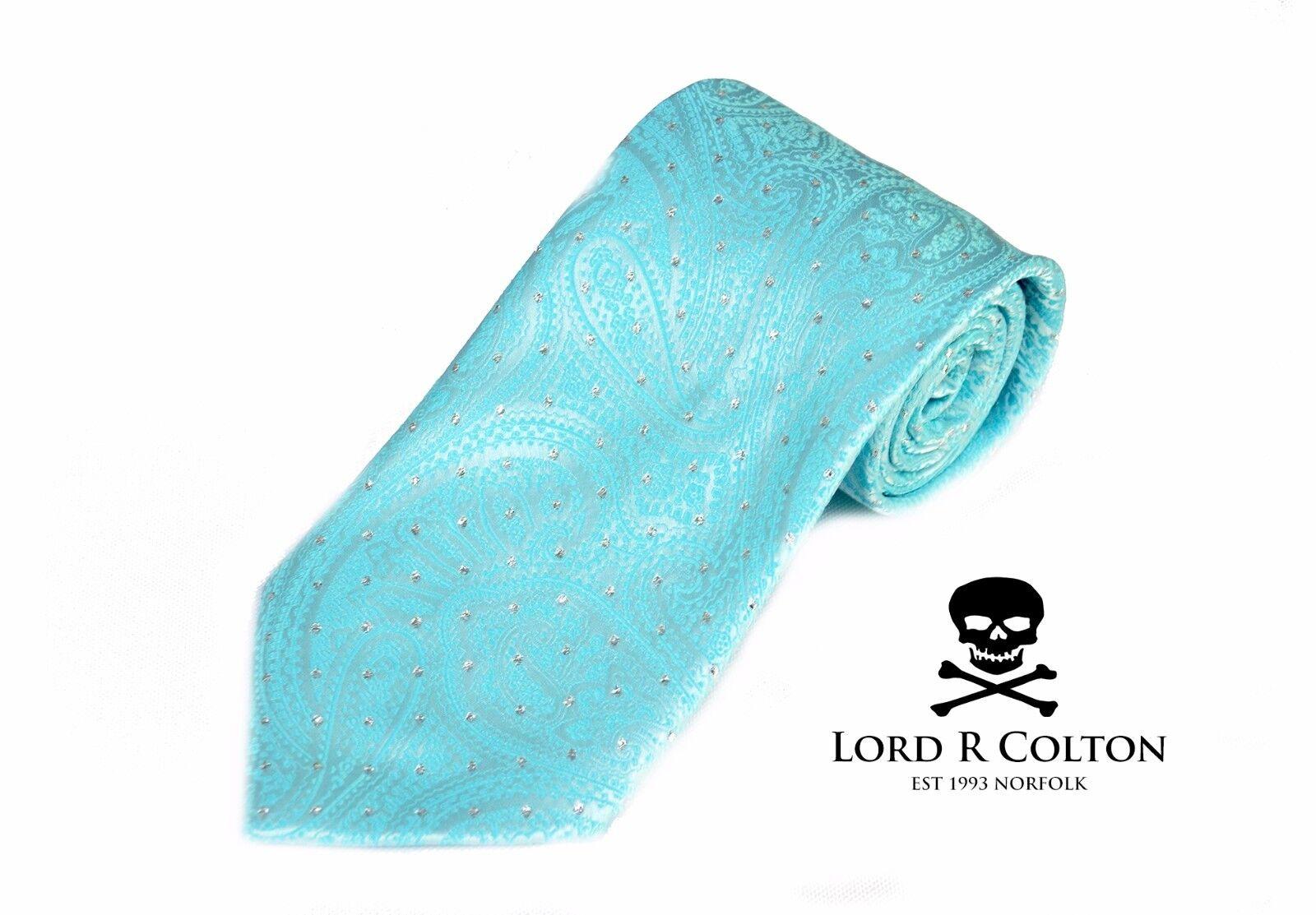 Lord R Colton Meisterwerke Krawatte Krawatte Krawatte Smaragd Führung Hell Seiden Krawatte Neu | Queensland  dc2081