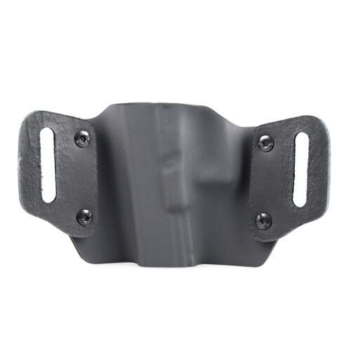 STEALTH BLACK USA OWB Kydex Holster For Ruger Handguns