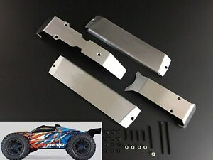 Traxxas 1//7 UDR Stainless Steel Chassis Armor Skid Plate Battery Protector