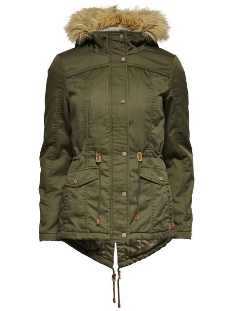 ONLY KATE Parka oliv grün peat XS S M L XL Jacke Winterjacke Vero Moda