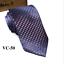 Classic-Red-Black-Blue-Mens-Tie-Paisley-Stripe-Silk-Necktie-Set-Wedding-Jacquard thumbnail 60