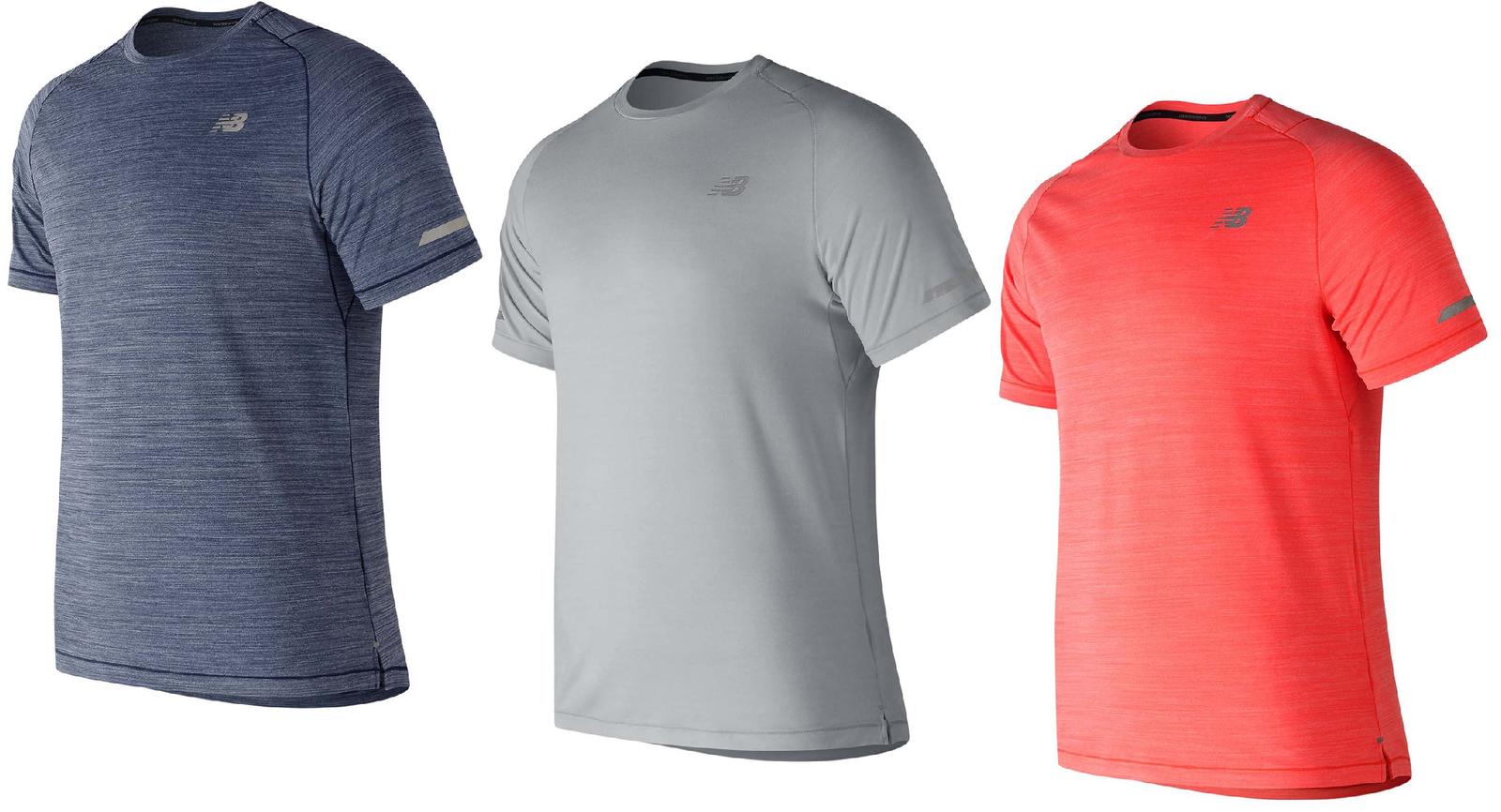 New Balance T-Shirt T shirt Tshirt Kurzarm Herren Top Fitness Freizeit 1351
