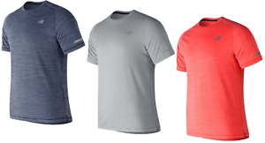 New balance t-shirt t shirt tshirt manga corta señores top fitness ocio 1351