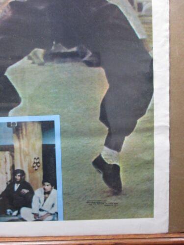 Vintage large Bruce Lee Poster original 1974 martial arts 12809