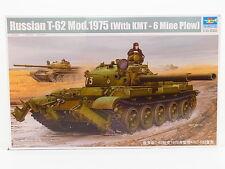 LOT 31103   Trumpeter 01550 Russian T-62 Mod. 1975 1:35 Bausatz NEU in OVP