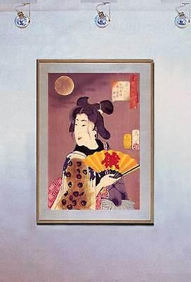 Poet and a Ghost 15x22 Japanese Print by Kuniyoshi Asian Art Japan Samurai