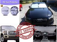 Windshield Car Truck Suv Front Sun Shade Uv Protector Window Pristine Interior