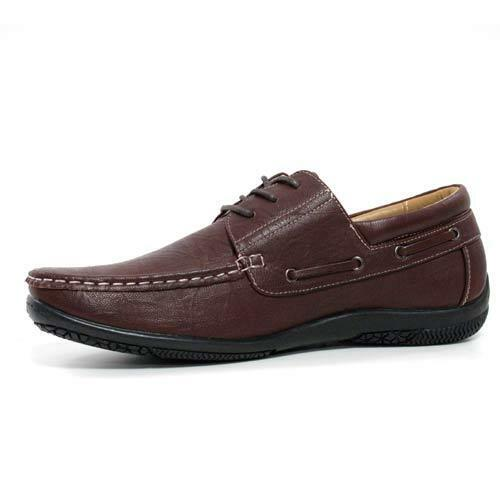 Mens New Lace Up Casual Boat Deck Mocassin Designer Loafers Driving Shoes Size