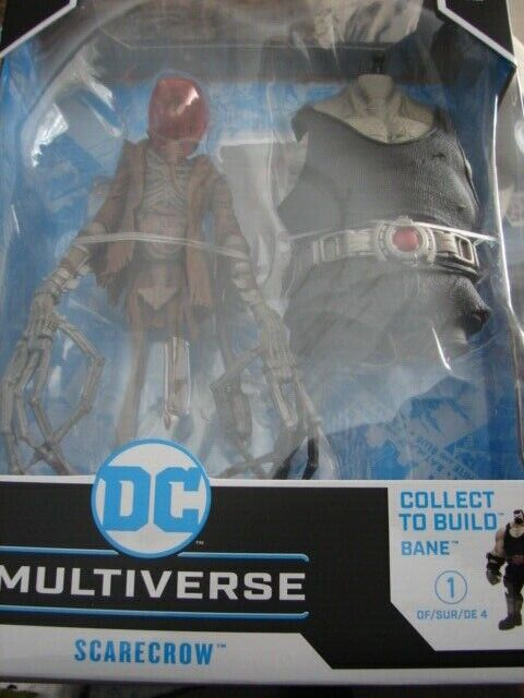 *IN-HAND* McFarlane DC Multiverse SCARECROW Batman Last Knight on Earth Bane BAF
