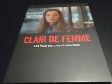"DVD DIGIPACK NEUF ""CLAIR DE FEMME"" Romy SCHNEIDER, Yves MONTAND / COSTA-GAVRAS"