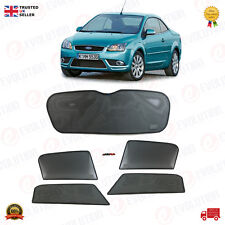 FORD FOCUS CC (HB) SUNSHADE SET / SUN VISOR SETS 5 WINDOWS/ 5 PCS 2006 TO 2010