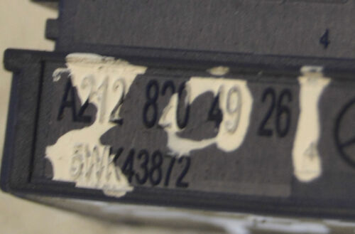 Mercedes E Class Crash Sensor A2128204926 W212 Air Bag Crash Sensor 2011