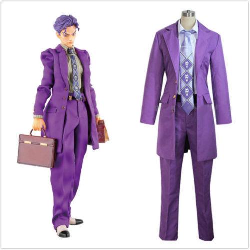 "JoJo/'s Bizarre Adventure Kira Yoshikage Uniform Cosplay Cos/""R5"