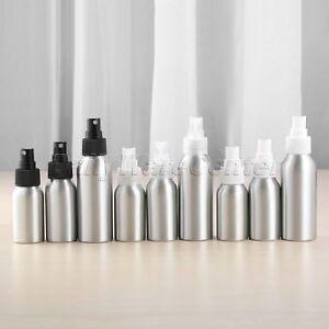 d40296f7462b 40/50/100ml Aluminum Perfume Bottle With Spray Mini Portable Empty ...