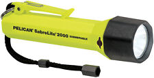 Pelican Products 2000CYLW Sabrelite Xenon Flashlight (Yellow) Carded